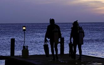 Nachttauchen – Nachttauchevent im Baggersee Diez